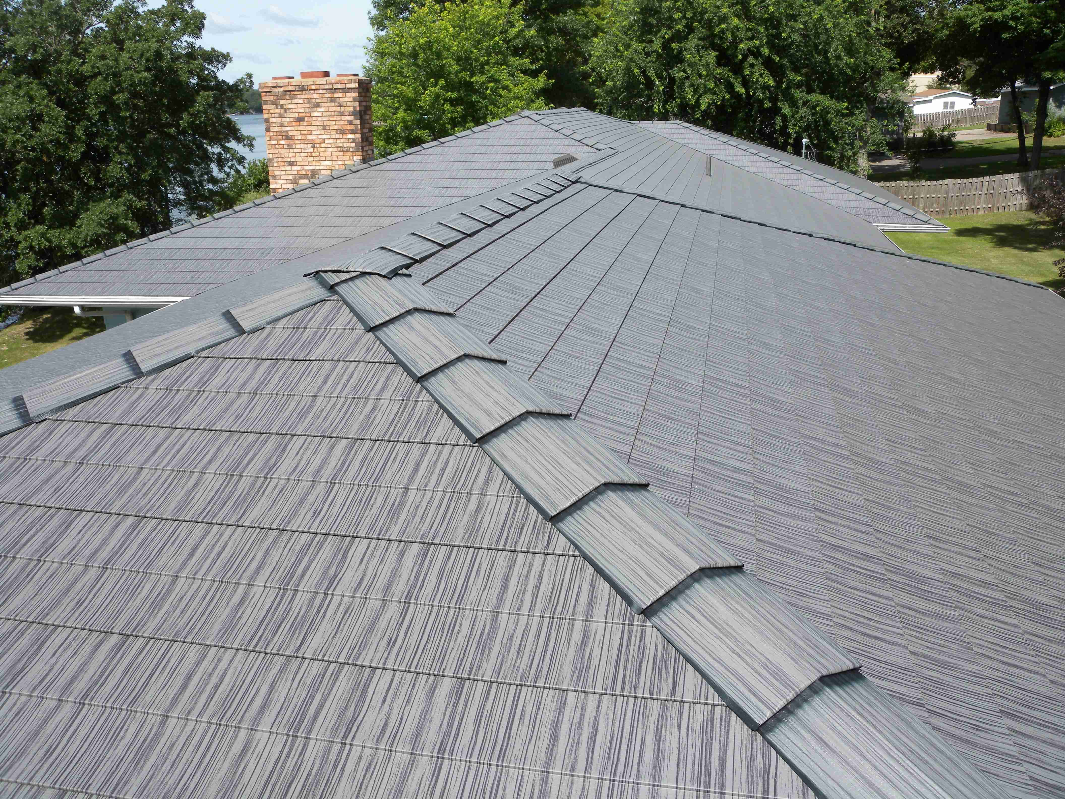 Roofer pitched roof