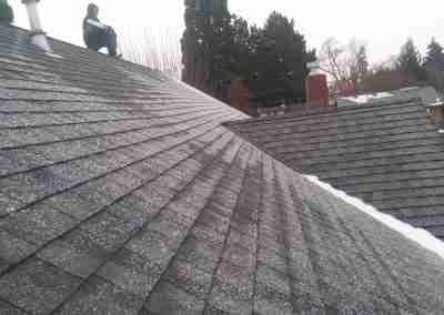 Architectural shingle roofing
