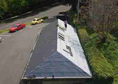 Portland roofers pitched roof