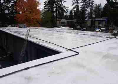 Portland roofers flat roof