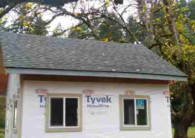 Roof shed roofing