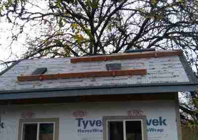 Storage shed roofing